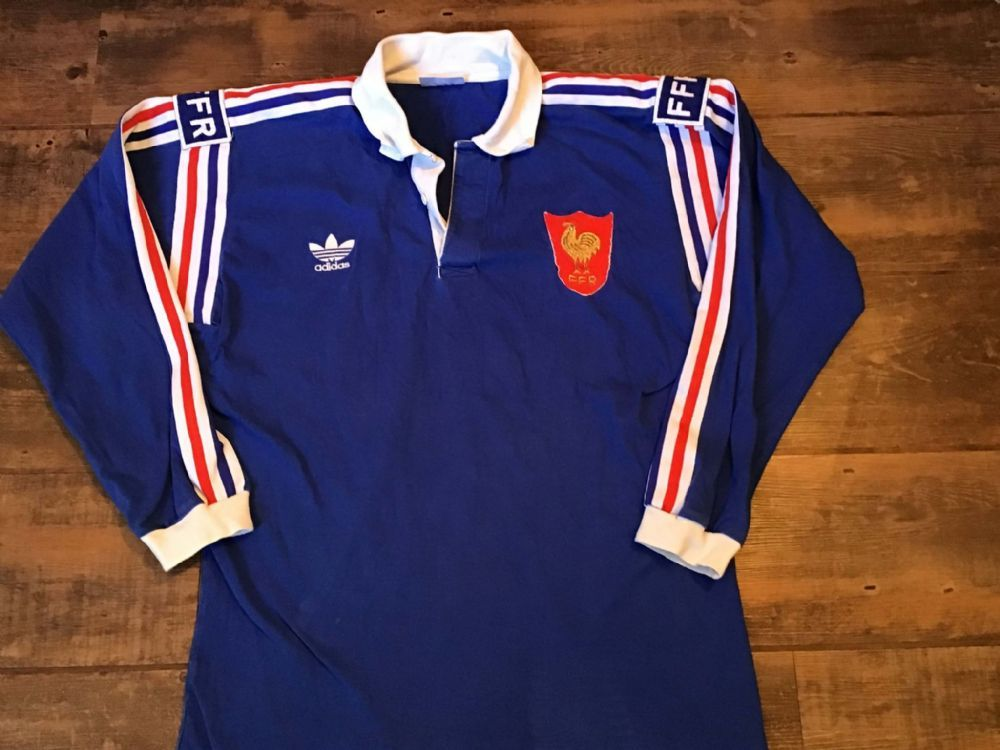 3497dfeb26dd6 1992 1994 France L/s Rugby Union Shirt Large | Rugby | Vintage ...