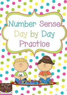 Number Sense Day by Day Freebie