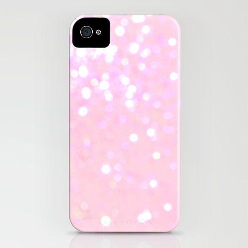 Glitter Pink iPhone Case