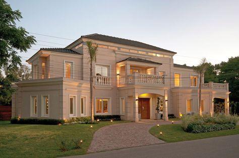 Perretta ocampo arquitectura home pinterest casa for Fachadas de casas estilo clasico