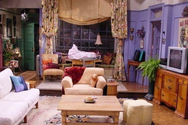 1990s Friends Apartment Monicas Apartment Apartment Decor
