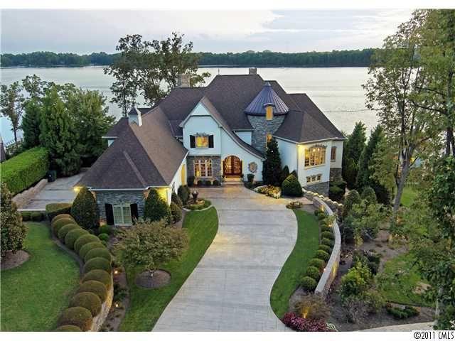 Lake Norman Real Estate Beautiful Buildings Beautiful Homes House Exterior