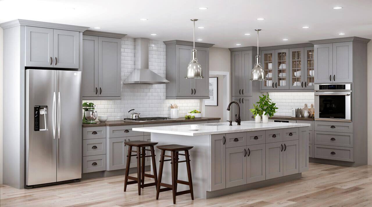 Best The Scientific Discipline Of Color Gray Grey Kitchen 400 x 300