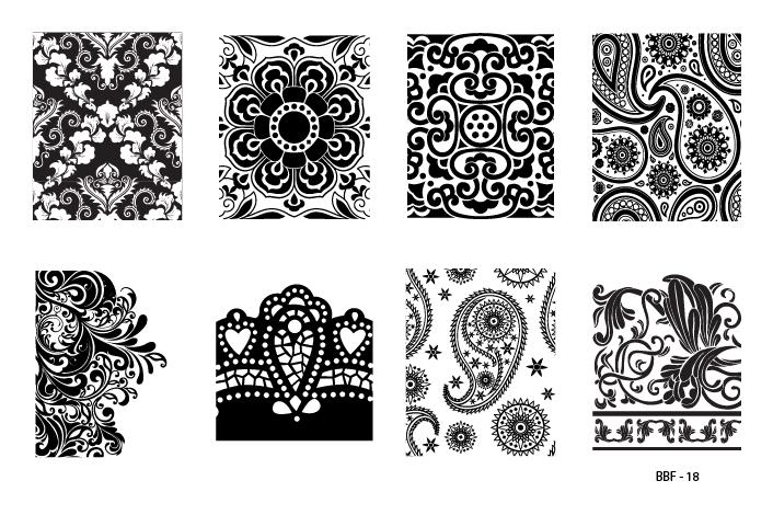 Lojabbf Nail Art Stamping Plates