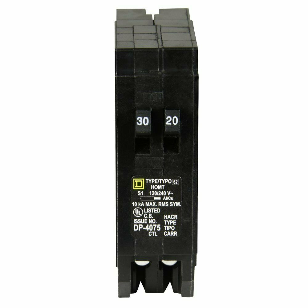 Sponsored Ebay Square D By Schneider Electric Homt3020cp Homeline 1 30 Amp 1 20 Amp Single P Electrical Panel Pole For Sale Electricity