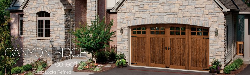 Canyon Ridge Steel Garage Door Amazing Garage Doors Look