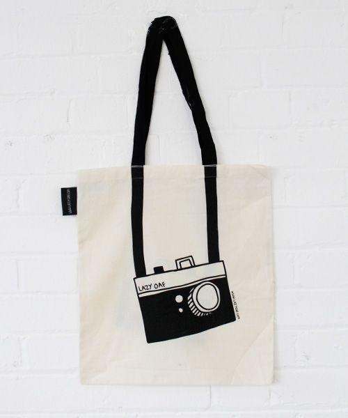 294ebf2d2870 Lazy oaf Camera tote bag £7.50