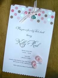 Examples Of Handmade Baby Shower Invitations Google Search