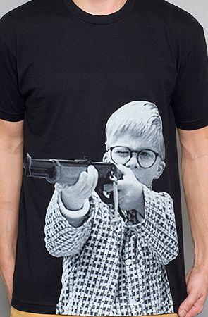 ralphie shooting bb gun shirt