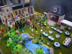 Diorama Boda Playmobil Playmobil Spieltisch Playmobil Playmobil Mobel