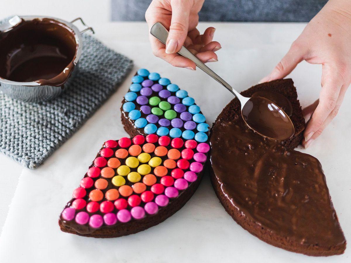 Schmetterlingskuchen Zum Kindergeburtstag Rezept Schmetterlingskuchen Schmetterling Kuchen Und Schokoladen Geburtstagskuchen