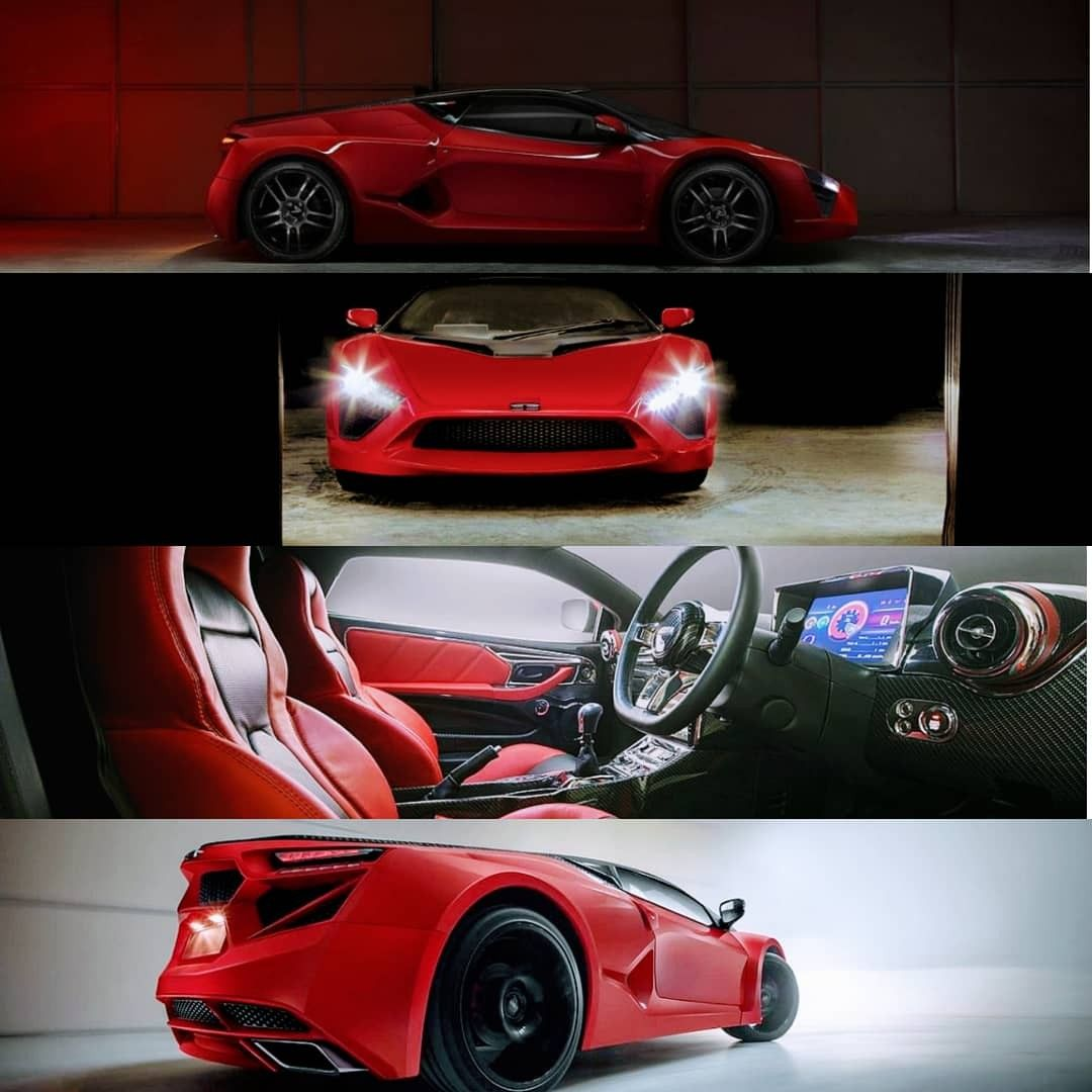 Dc Avanti Ev in 2020 Electric sports car, Sports car, Ev
