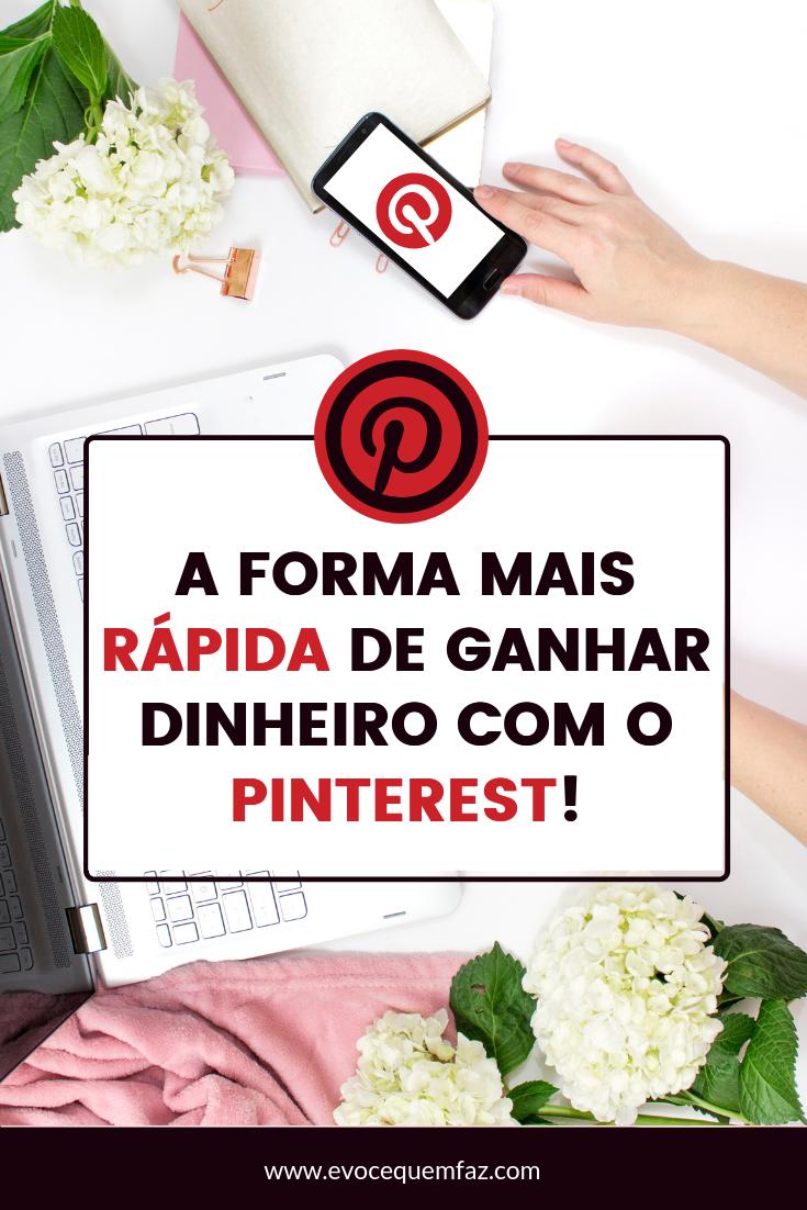 A FORMA MAIS RÁPIDA DE GANHAR DINHEIRO COM O PINTE...