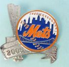 For Sale: NEW YORK METS LOGO with BASEBALL BATS Pin from NY TIMES 2005 Collection http://sprtz.us/NYMetsEBay