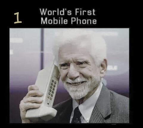 WORLD'S FIRST MOBILE PHONE 😃 First world, Einstein