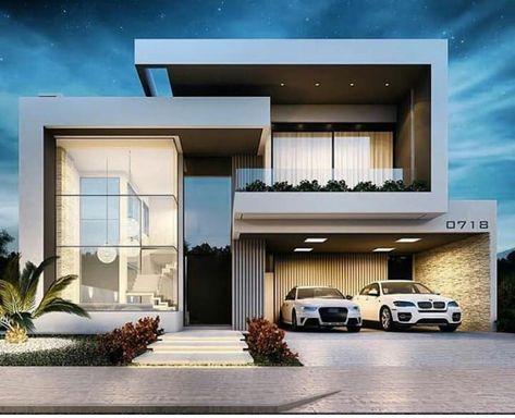 Bom dia com essa linda resid ncia que fachada autoria for 30 fachadas de casas modernas dos sonhos