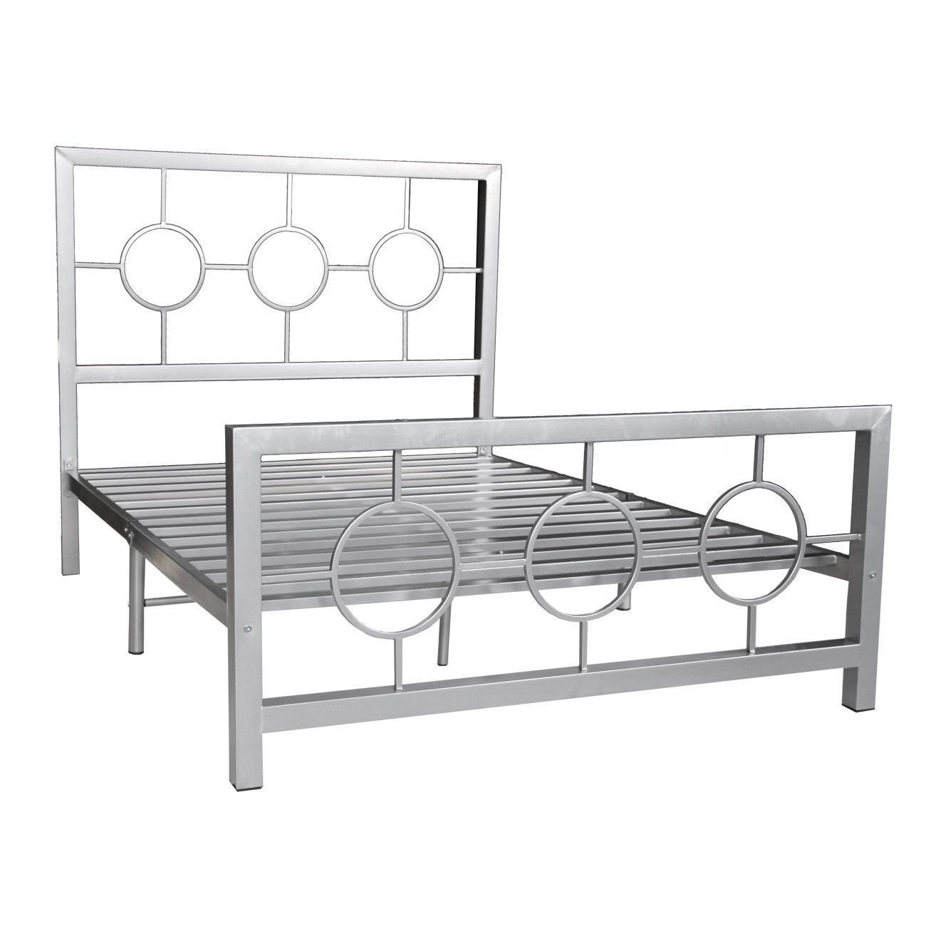 Hazelwood Home Metal Bed | Wayfair | Gotham Glam | Pinterest | Hierro