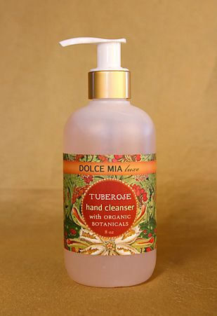 Wonderful Moisturizing 8 Oz Pump Hand Sanitizers In Floral