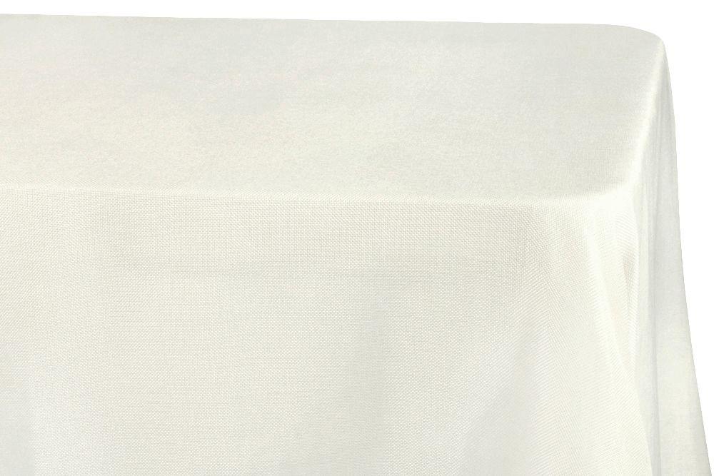 Faux Burlap Tablecloth 90