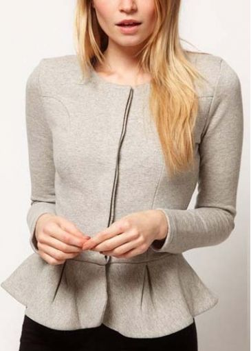Updated Suit Jacket. #classic #must #peplum
