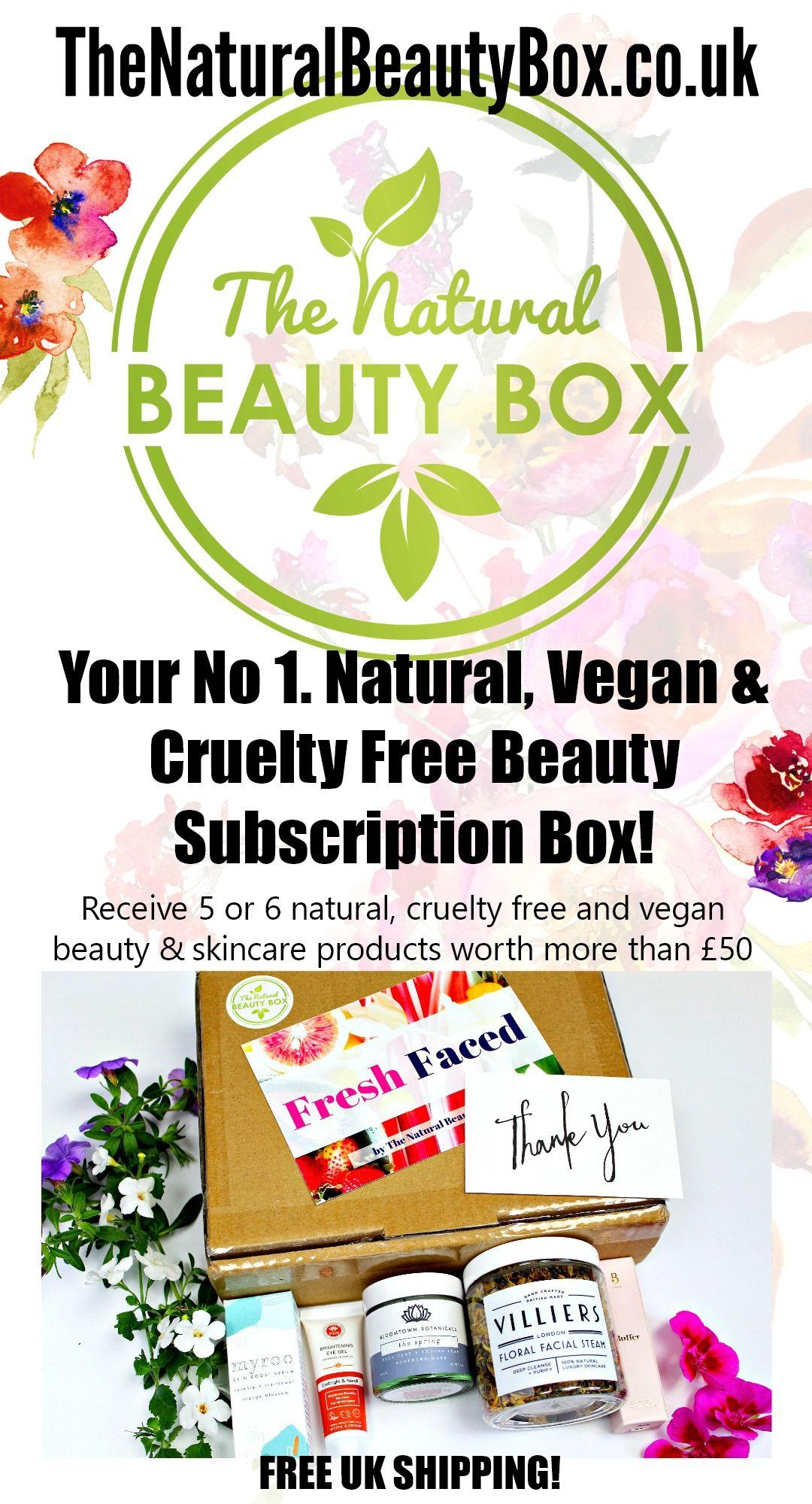 TheNaturalBeautyBox.co.uk Your No 1. Natural, Vegan