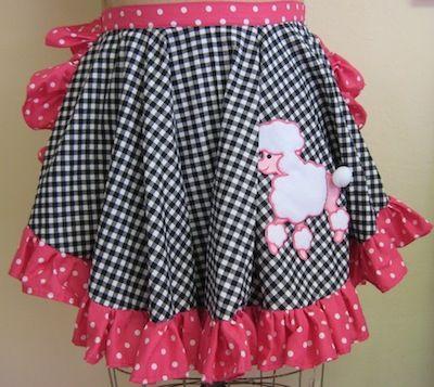free apron pattern - Pink Poodle Apron