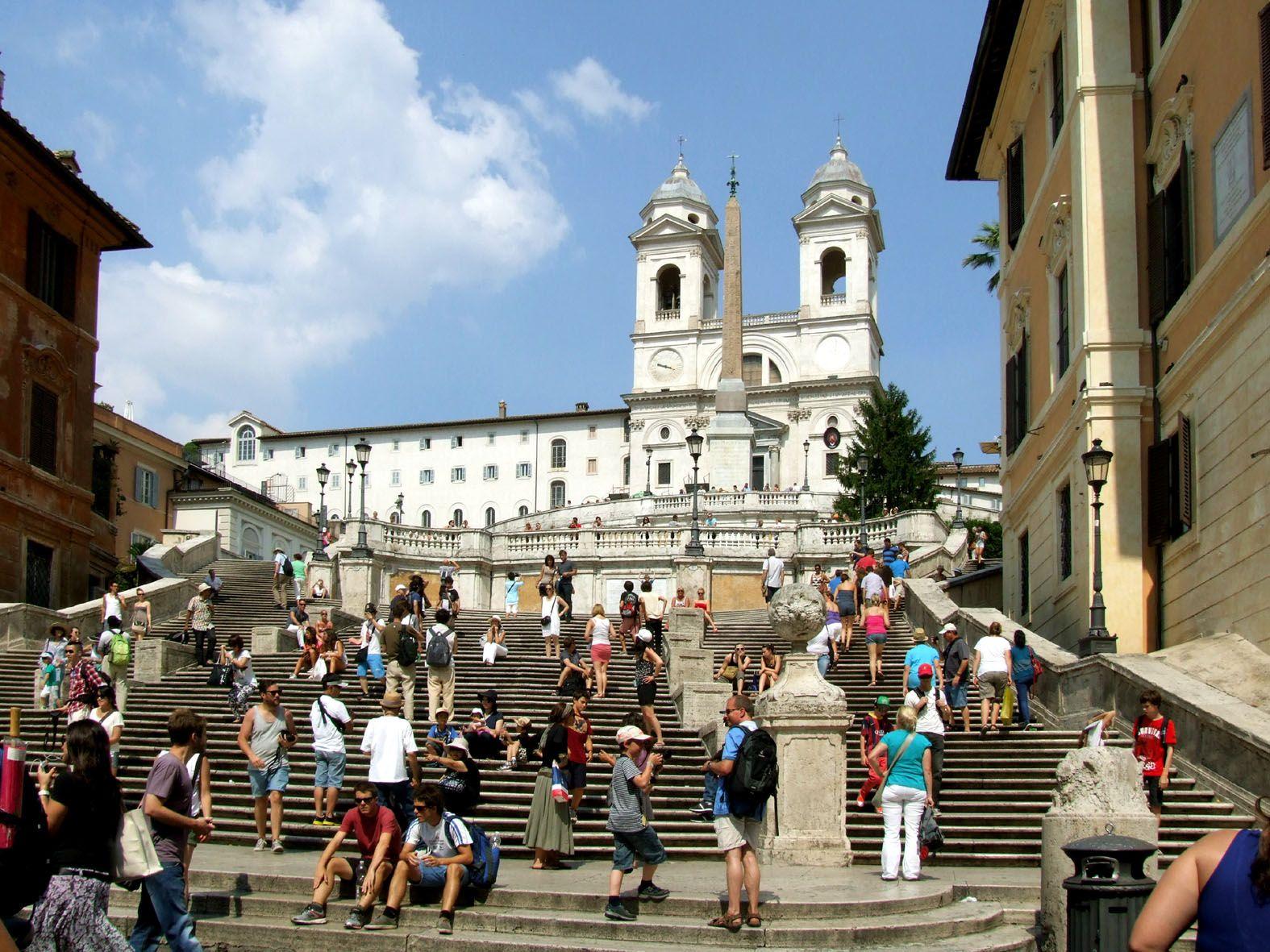 Piazza Di Spagna Und Umgebung Spanische Treppe Umgebung Besichtigung