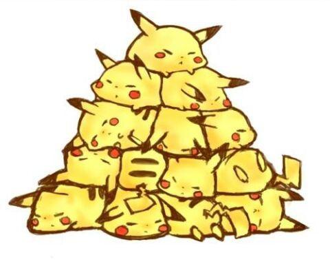 Pikachu pyramds