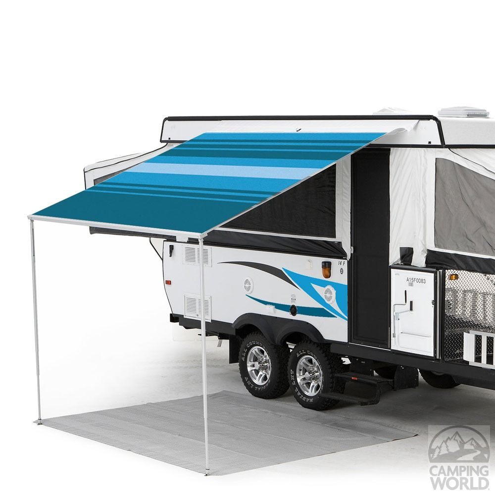 Campout Patio Awning by Carefree | Camper awnings, Campout ...