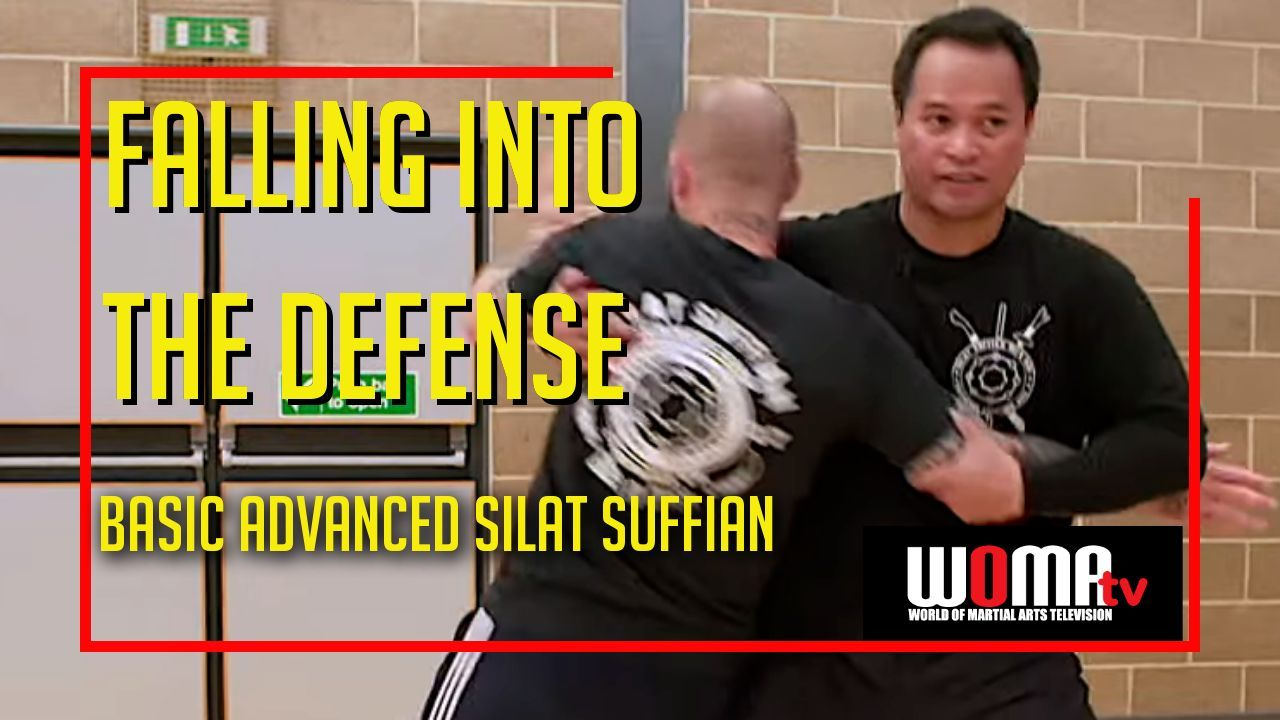Falling into the defense basic advanced silat martial