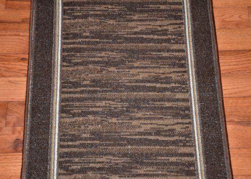 Best Dean Washable Carpet Rug Runner Boxer Chocolate 400 x 300