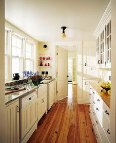 Create A Lovely Galley Kitchen images