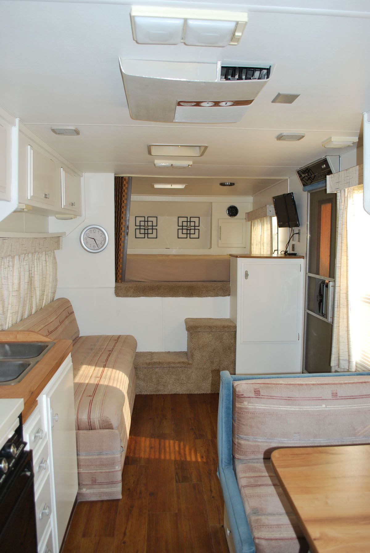 Redone interior of 1985 fleetwood prowler camper interior design rv makeover cool campers