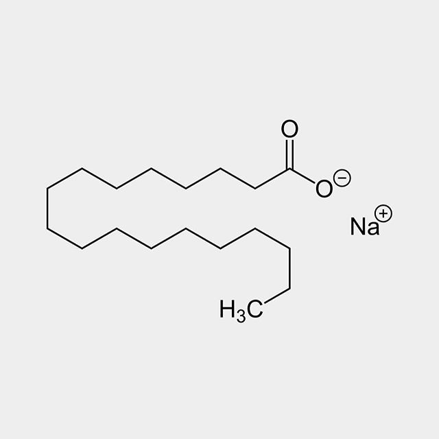 Sodium Stearate Is The Sodium Salt Of Stearic Acid This White