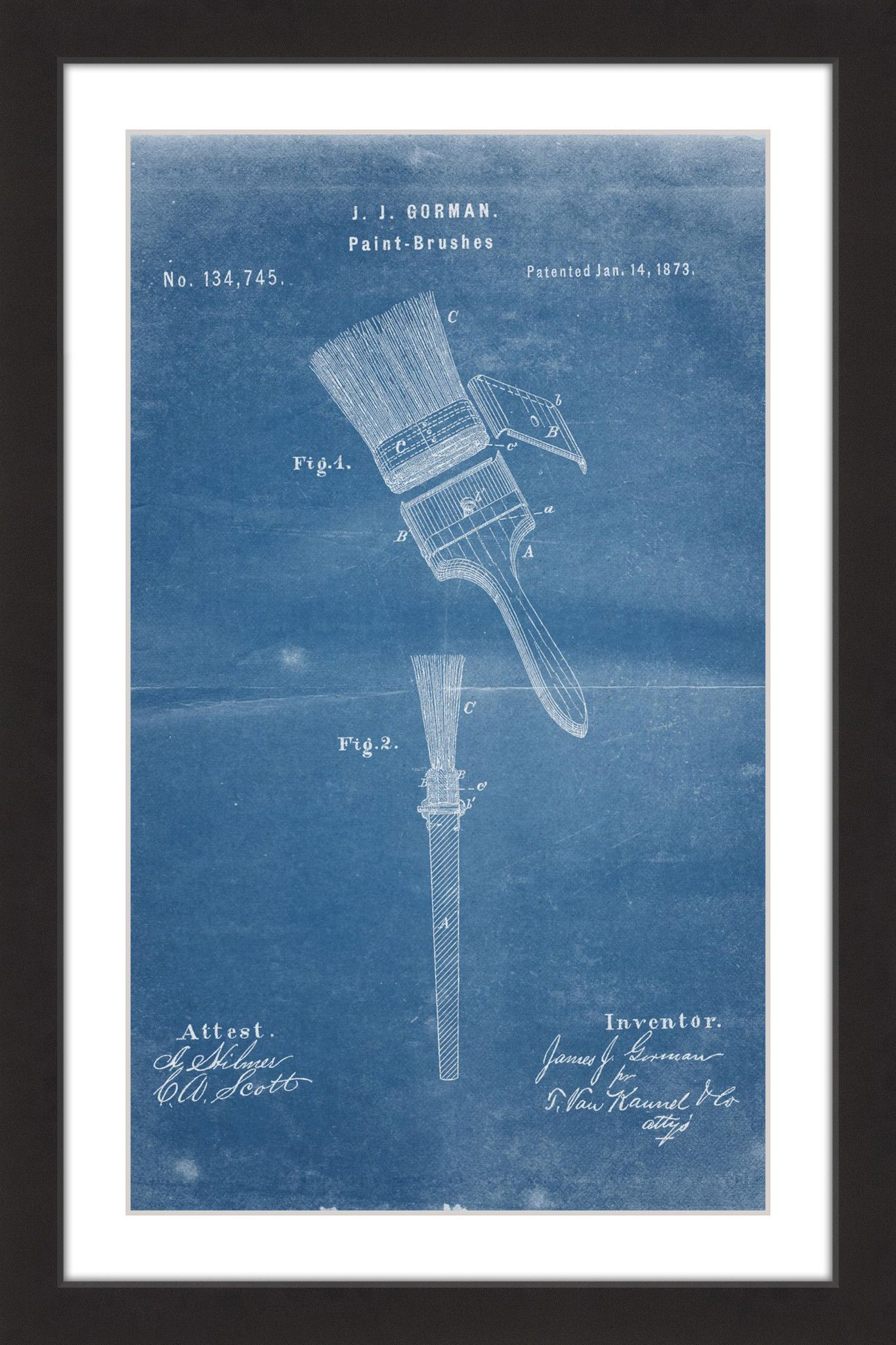 Paint brush 1873 blueprint products paint brush 1873 blueprint malvernweather Image collections
