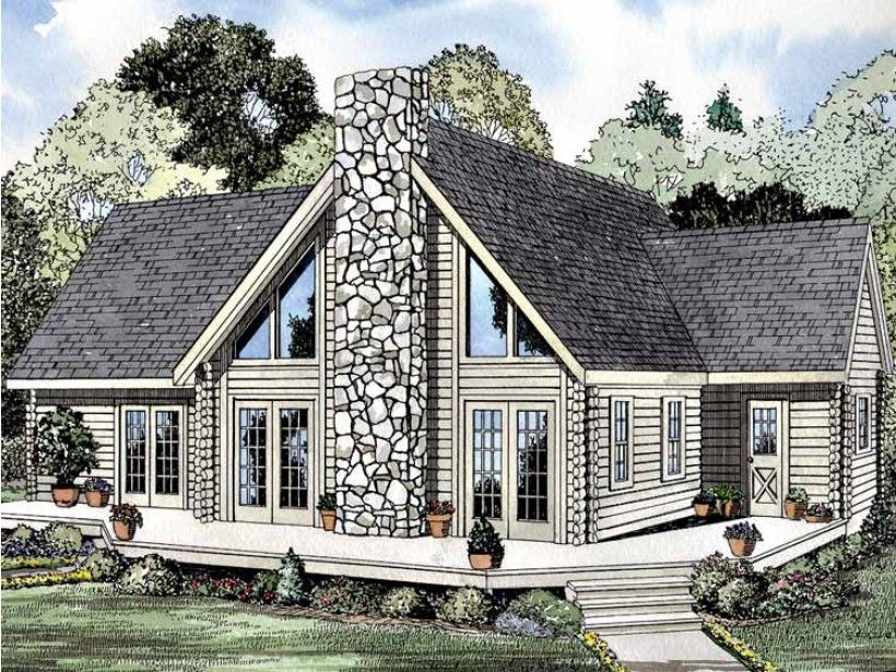 Build Your Ideal Home With This Log Houses House Plan With 3 Bedrooms S 2 Bathroom S 2 Story And 22 With Images Cabin House Plans Log Home Plans Log Cabin House Plans