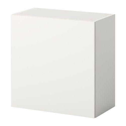 КНОКСХУЛЬТ Навесной шкаф с дверцей, белый Bookshelf storage - unterschrank küche 60 cm