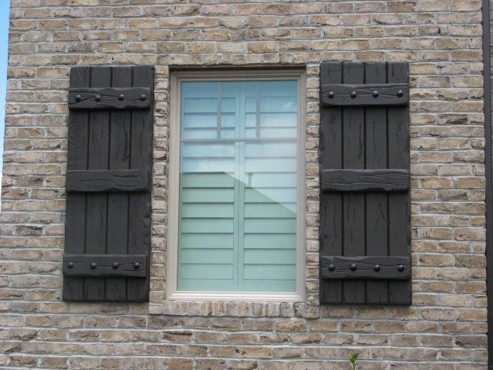 Rustic Shutters - Custom Exterior Designs | House Siding, Stone ...