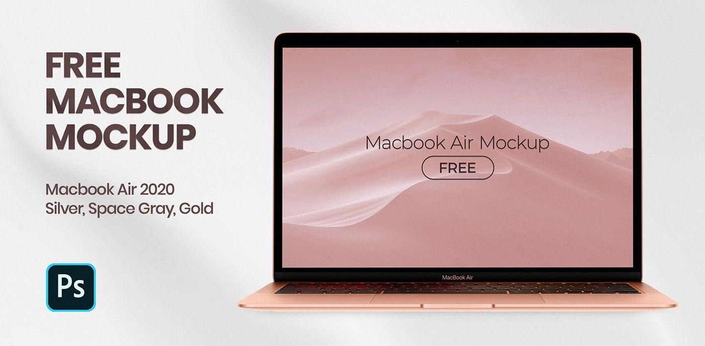 Macbook Air 2020 Free Psd Mockup Mockup Free Psd Macbook Mockup Mockup