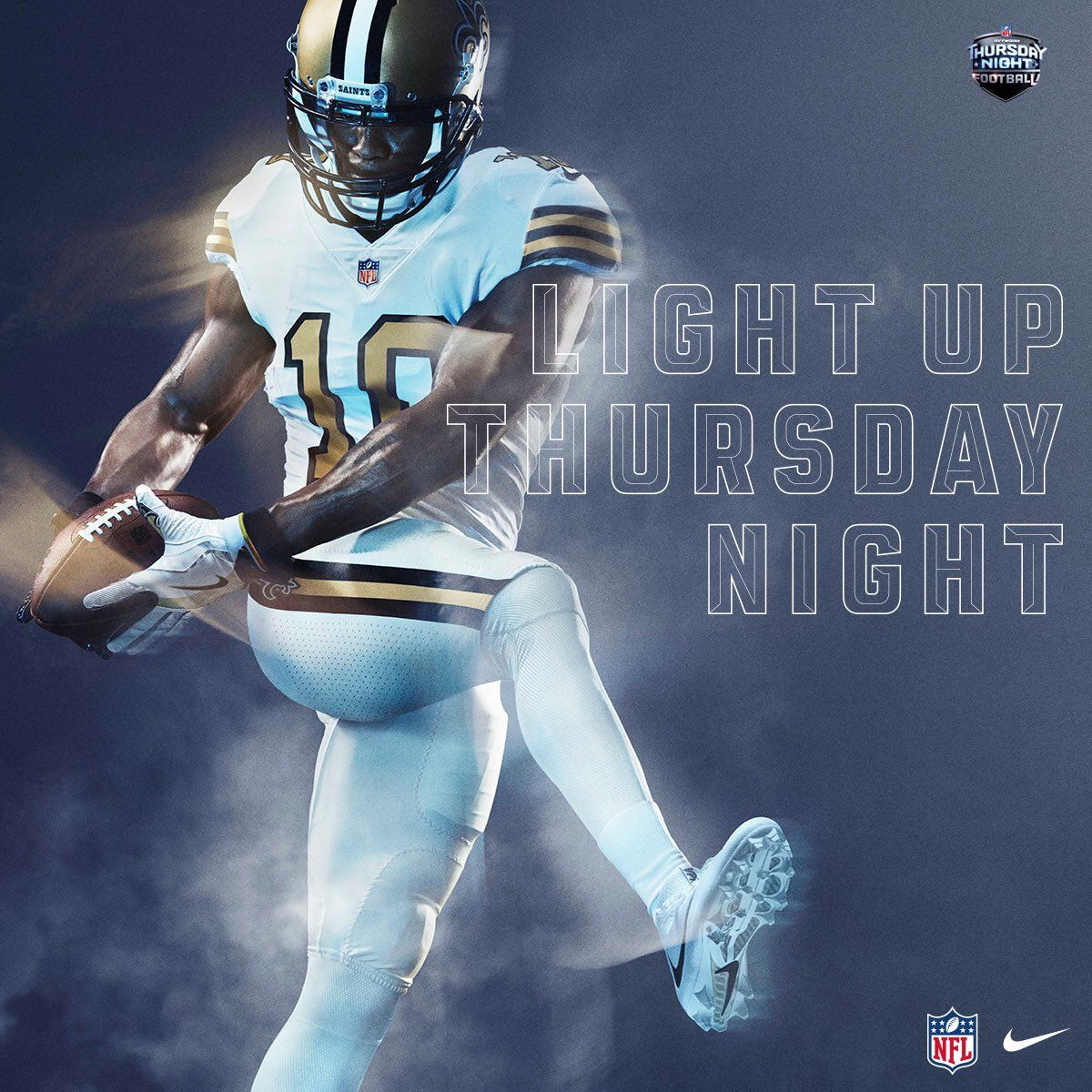buy popular f265e 63047 Power Ranking all 32 NFL Color Rush Uniforms#14. New Orleans ...