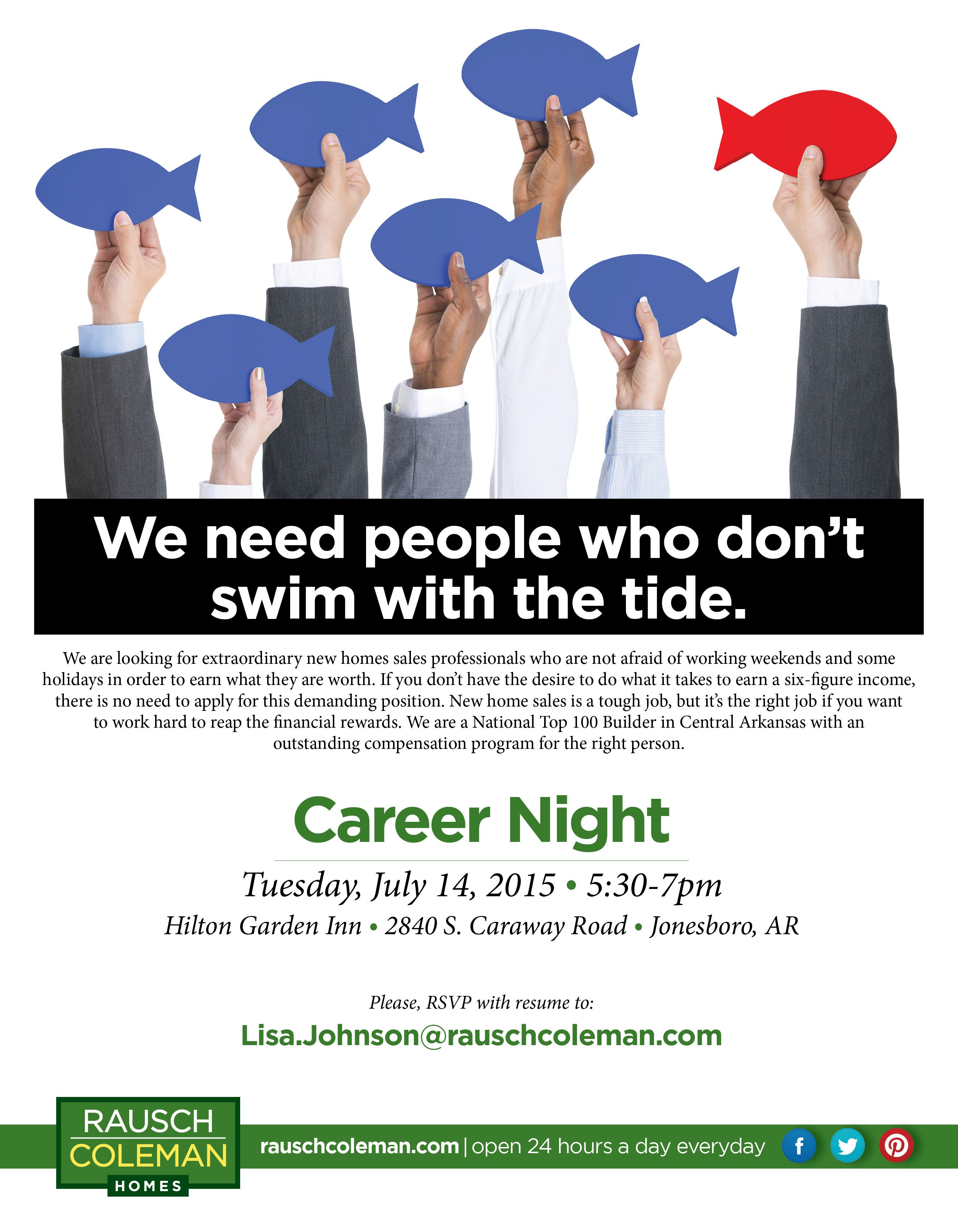 Don't miss this exciting networking and career opportunity