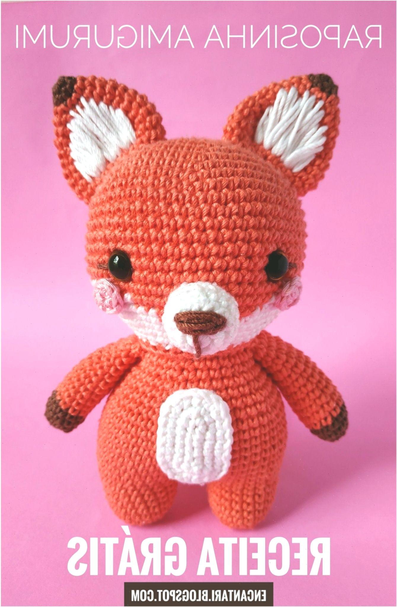 Raposa de crochê com receita: Amigurumi | Háčkování, Hračky, Polštáře | 2045x1340