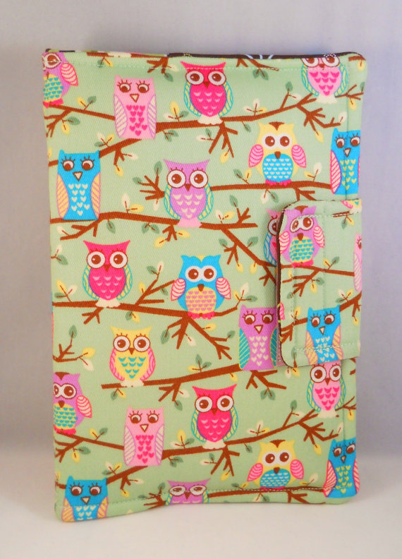 Kindle Fire Hd Cases Ipad Mini Case Cute Owls On Branches Etsy Personalized Kindle Case Kindle Fire Case Hd Case