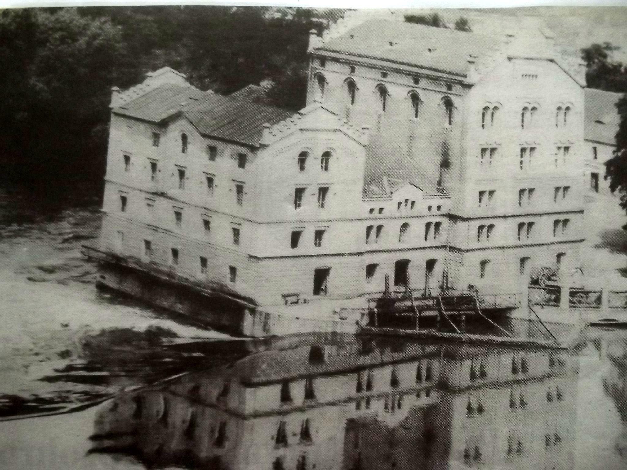 mlýn Radimských.