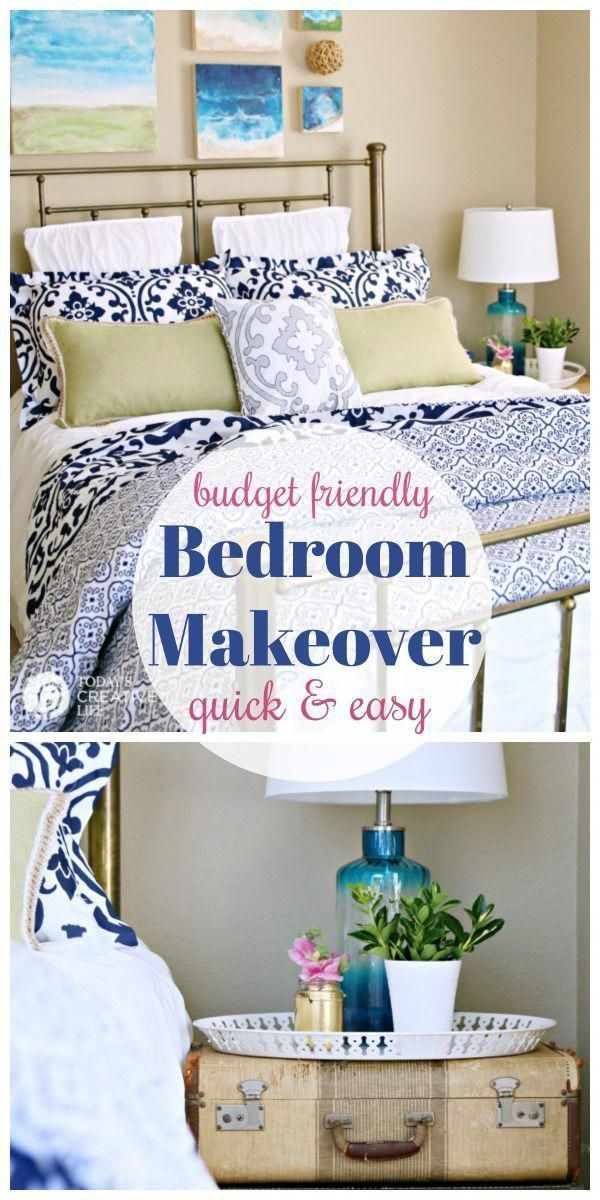 Best Guest Bedroom Ideas On A Budget Bedroom Makeover Before 640 x 480