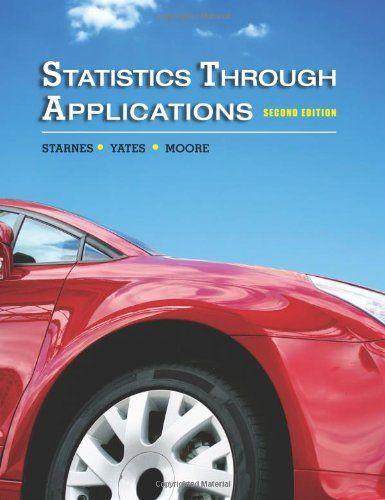 Statistics Textbook--Statistics Through Applications | Upper