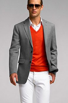BR Monogram Cashmere/Linen Blazer | BR Monogram Collection for Men ...