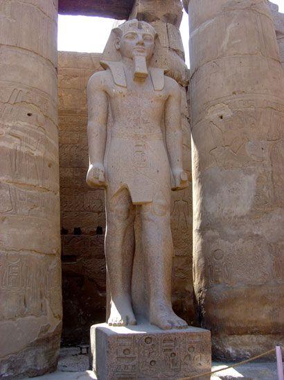 Ramsès II, Louxor