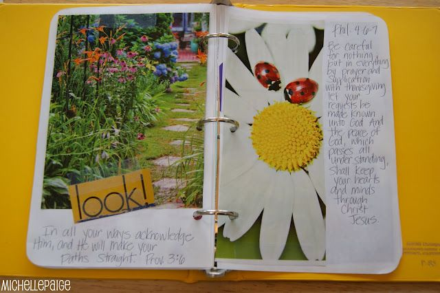 how to make a bible notebook