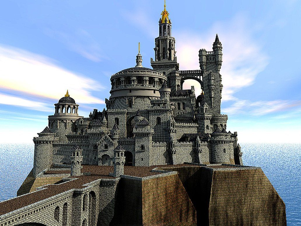 Fantasy castle enchantment pinterest fantasy castle for Castle design